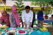 Bupati Bengkulu Utara Tinjau Lomba Masak Menu Serba Ikan