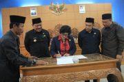7 Fraksi DPRD Kabupaten Bengkulu Utara Setuju Atas RAPBD Tahun 2020