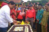 Hari jadi Pekerjaan Umum ke-74, Bupati Bengkulu Utara Giat di Desa Tanjung Sari SP 6