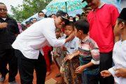 Bupati Bengkulu Utara Tinjau Giat Pemeriksaan Kesehatan Gratis