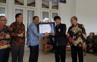 Bupati Bengkulu Utara Terima Penghargaan BPKP atas Maturitas Penyelengaraan SPIP Level 3
