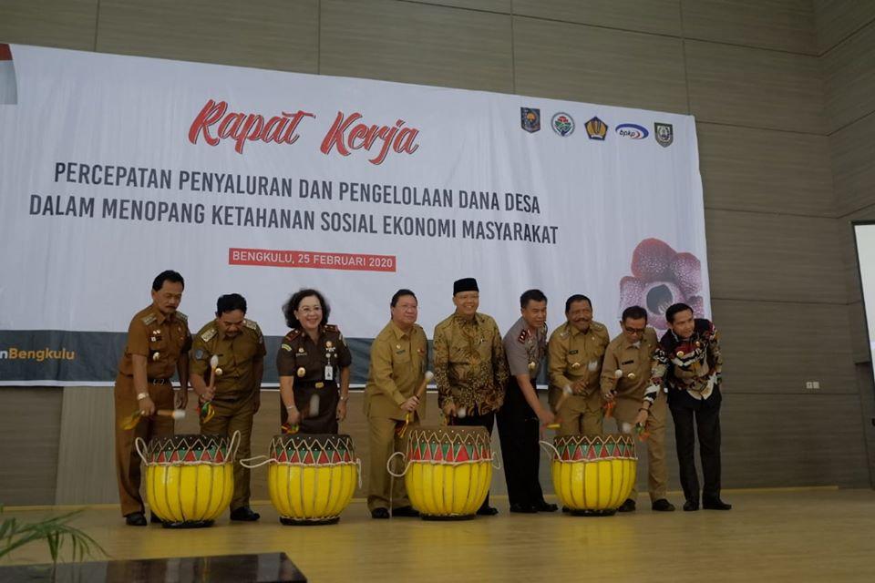 Raker DD, Mian: Kita Pertahankan Penyerapan Anggaran Desa Terbaik se-Provinsi Bengkulu