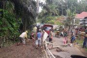 Bupati Bengkulu Utara Kerahkan Penanganan Darurat Lokasi Jebolnya Jalan Desa Padang Bendar