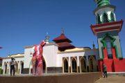 Tim Gugus Tugas Bengkulu Utara Semprot Disinfektan di Rumah Ibadah dan Pemukiman Padat Penduduk