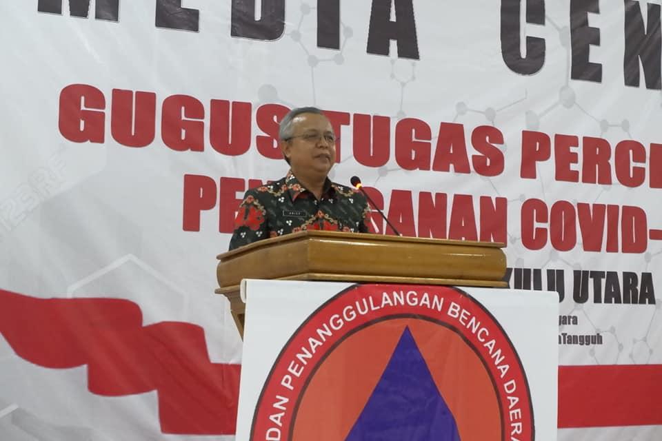 Update Data Penanganan Covid-19 Kabupaten Bengkulu Utara, 2 April 2020
