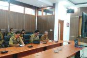 Sekda BU Pimpin Rakor Video Conference Bersama Gubernur Bengkulu