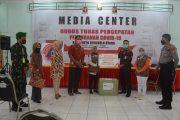 Gugus Tugas Percepatan Penanganan Covid-19 Kabupaten Bengkulu Utara Terima Bantuan 50 Alat Pelindung Diri (APD) dari Bank BNI