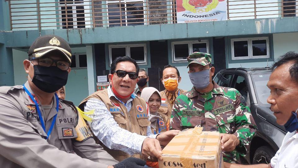 PT Pamor Ganda Salurkan Bantuan untuk Penanganan dan Pencegahan Covid-19
