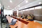 Bupati Bengkulu Utara Vicon Refocusing Kegiatan dan Relokasi Anggaran