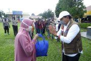 Bupati Bengkulu Utara, Hadiri Gerakan Bakti Sosial Polri Peduli Covid-19