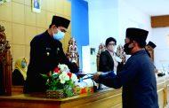 Kata Akhir Fraksi DPRD BU Menyetujui Raperda Petanggungjawaban APBD 2019