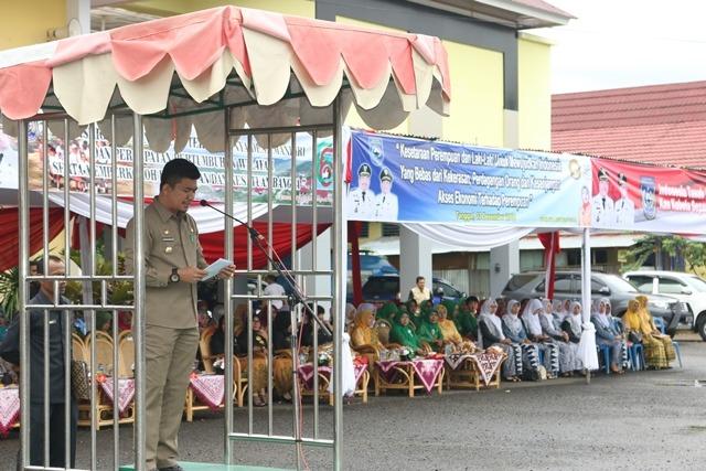 Bengkulu Utara, Gelar Upacara Hari Transmigrasi Ke 66, Hari Bela Negara dan Hari Ibu ke 88