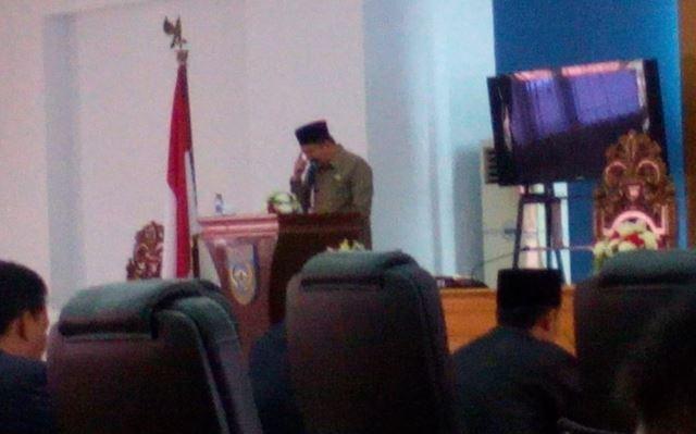 Pemkab Ajukan 2 Raperda Kepada DPRD Kabupaten Bengkulu Utara