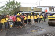 Bupati Bengkulu Utara Launching Satgas Pemeliharaan Jalan