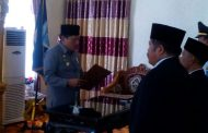 Bupati Lantik Pejabat di Lingkungan Pemkab Bengkulu Utara