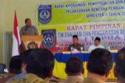 Bupati Buka Rakordal dan Tepra Kabupaten Bengkulu Utara