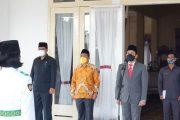 Berjalan Khidmat, Wakil Bupati BU Kukuhkan Paskibraka Bengkulu Utara 2021