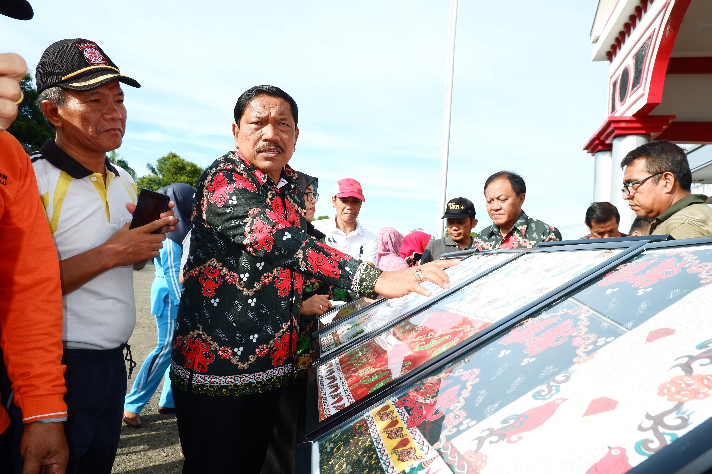 Resmi Diluncurkan, Batik Kagano Jadi Salah Satu Batik Khas Kabupaten Bengkulu Utara