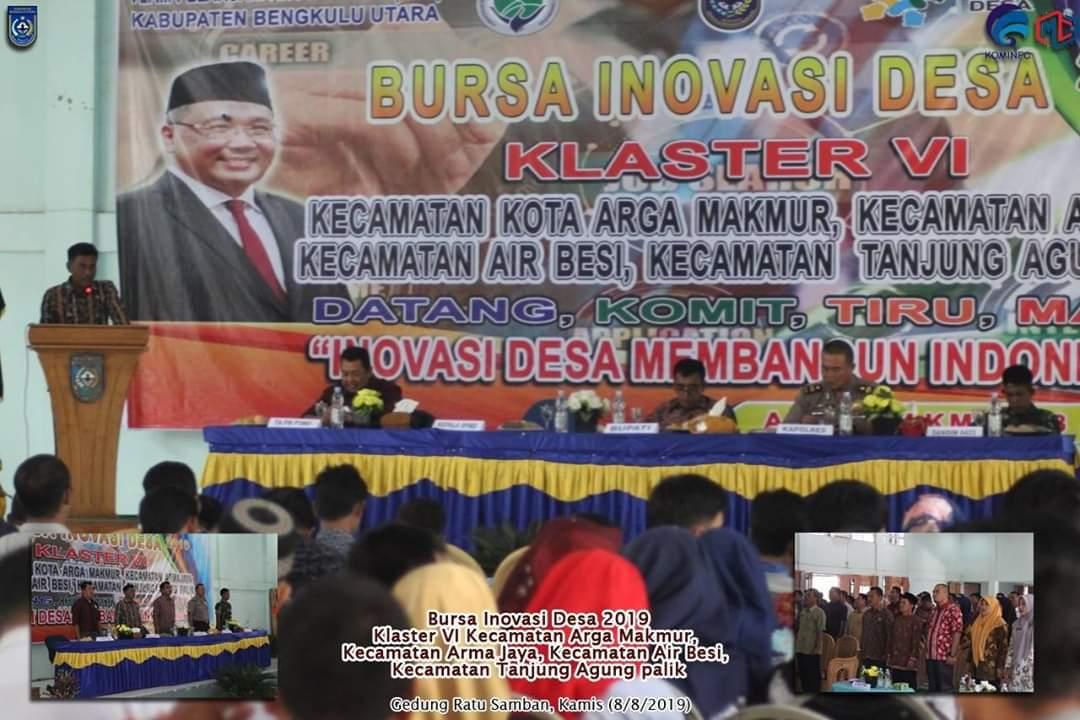 DPMD Kabupaten Bengkulu Utara Bersama TPID Gelar Bursa Inovasi Desa Tahun 2019