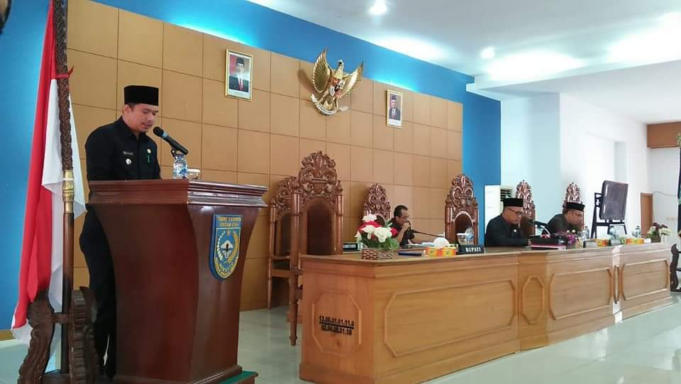 Eksekutif dan Legislatif Gelar Paripurna Perubahan Peraturan Daerah No 14 Tahun 2016