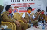 Monitor Penanganan Covid-19, LO BNPB Pusat Kunjungi Kabupaten Bengkulu Utara