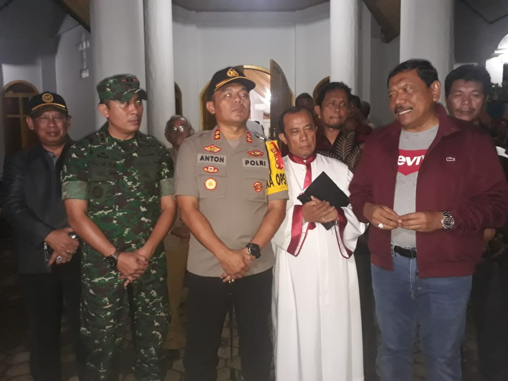 Operasi Lilin Nala, FKPD di Bengkulu Utara Patroli Bersama