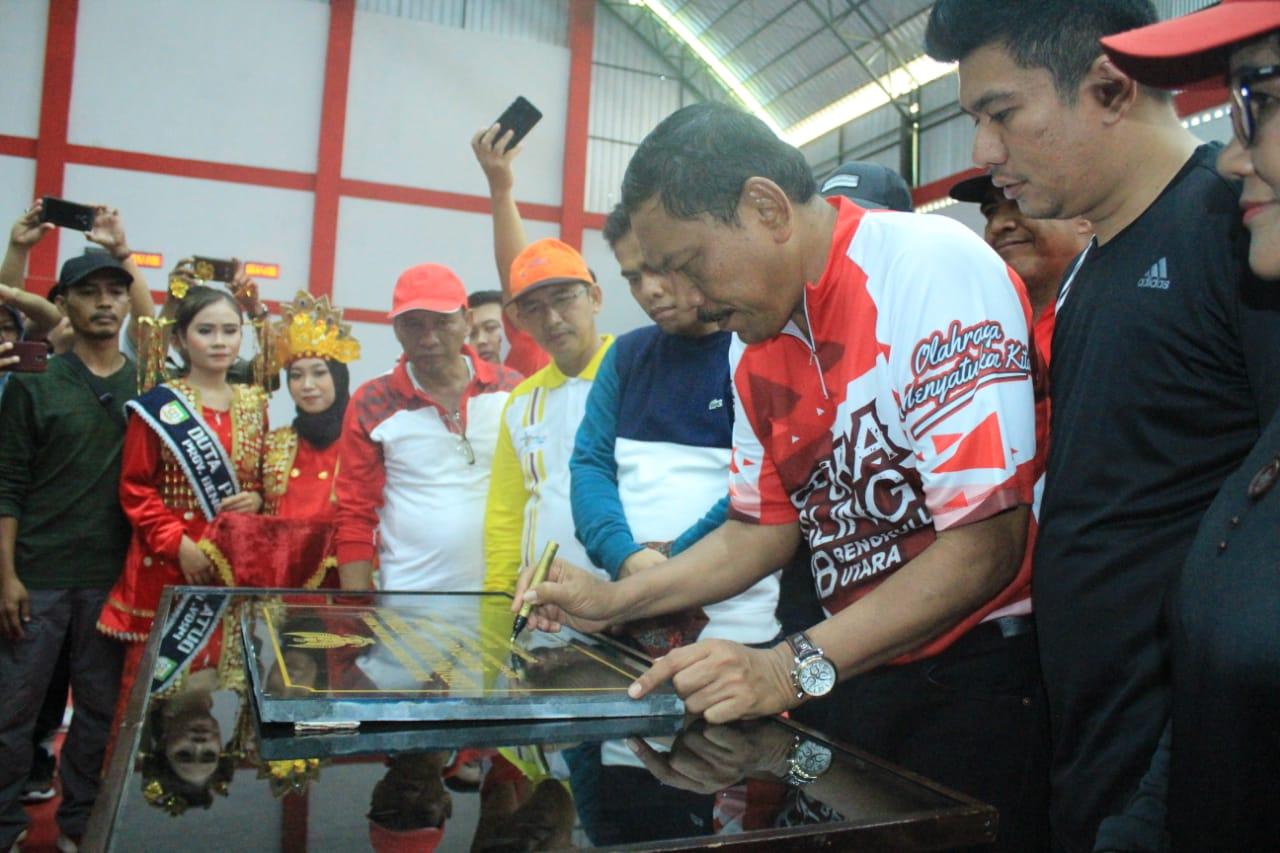 Bupati Resmikan GOR Perjuangan Kebanggaan Bengkulu Utara