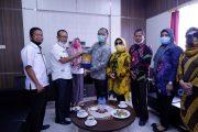 Pemkab BU Terima Kunjungan Staf Ahli Walikota Palembang
