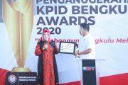 Bengkulu Utara Raih Penghargaan Pemda Peduli Penyiaran Anugerah KPID 2020