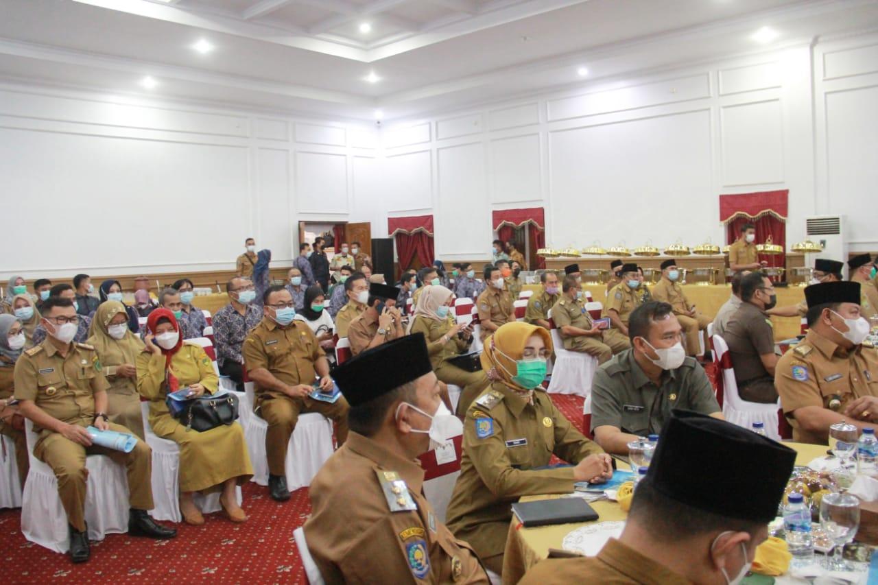 Bahas Isu Strategis, Wabup Arie Hadiri Rakor BPKP Bengkulu