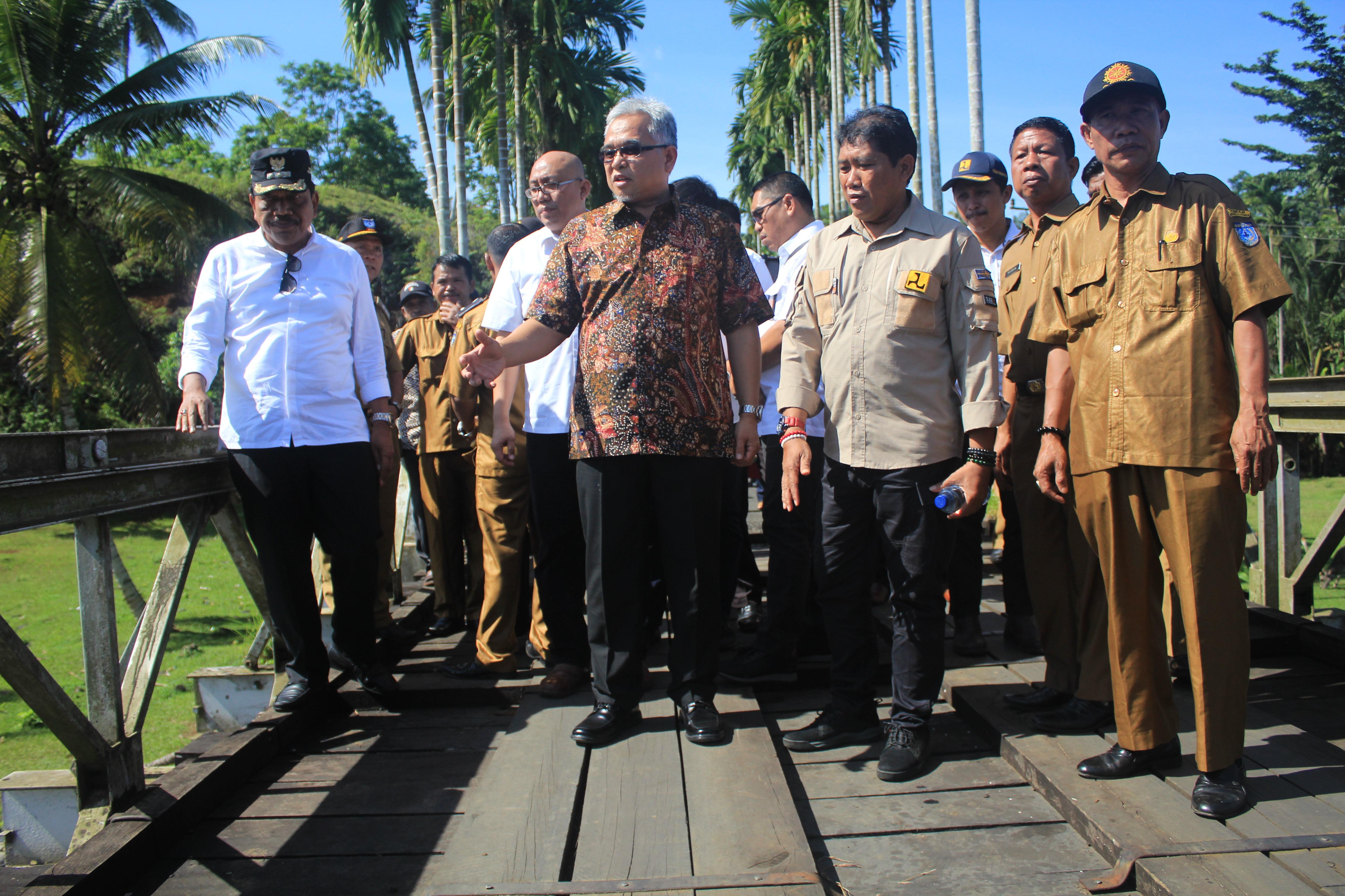 30 Tahun Menanti, Akhirnya Jembatan Tanjung Putus Dibangun Permanen