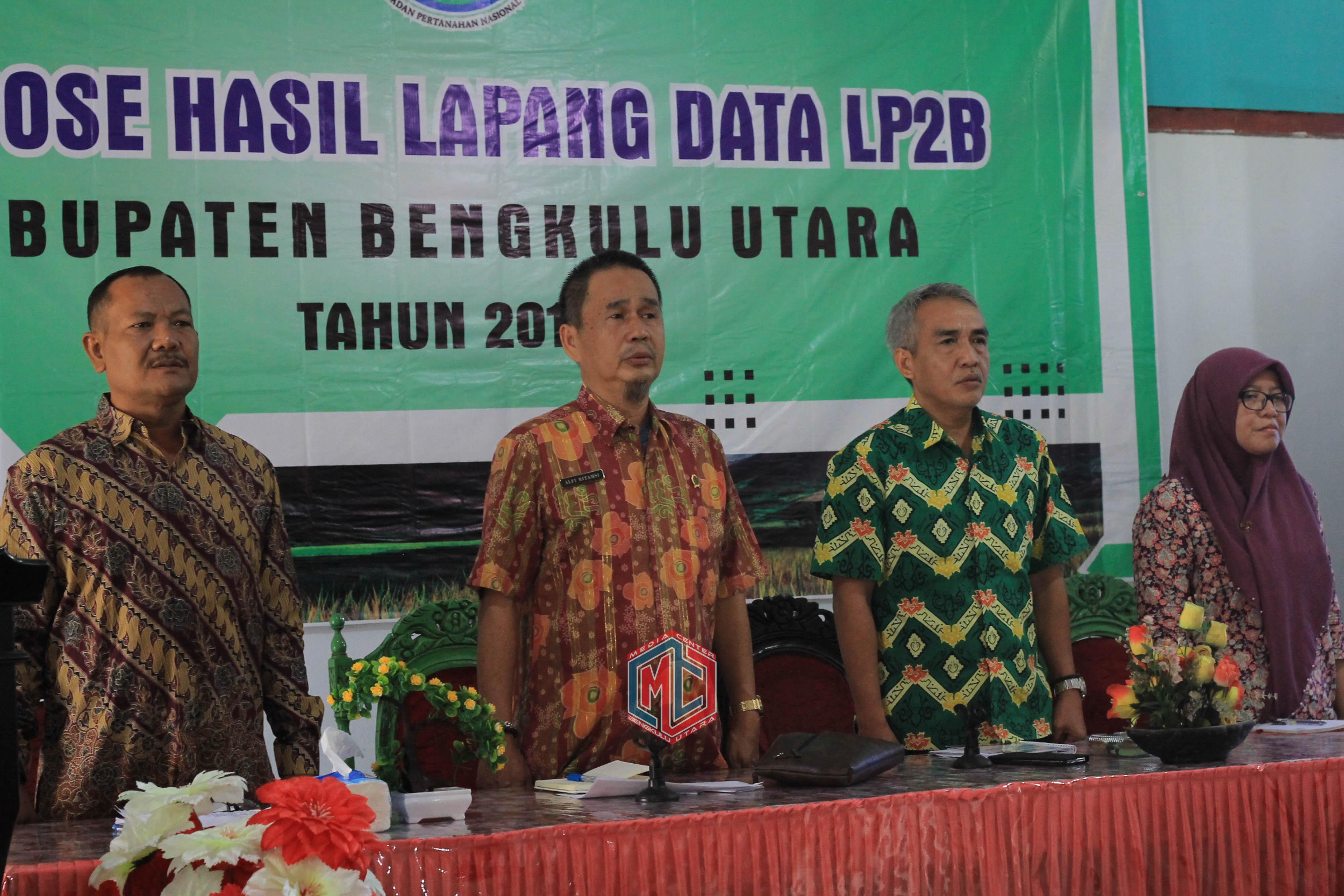 BPN Ekspose Hasil Data LP2B