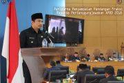 Paripurna Penyampaian Pandangan Fraksi Raperda Pertanggungjawaban APBD 2018