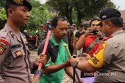 Satgas Nusantara Polres Bengkulu Utara Giat Kerja Bakti Bersama TNI dan Masyarakat