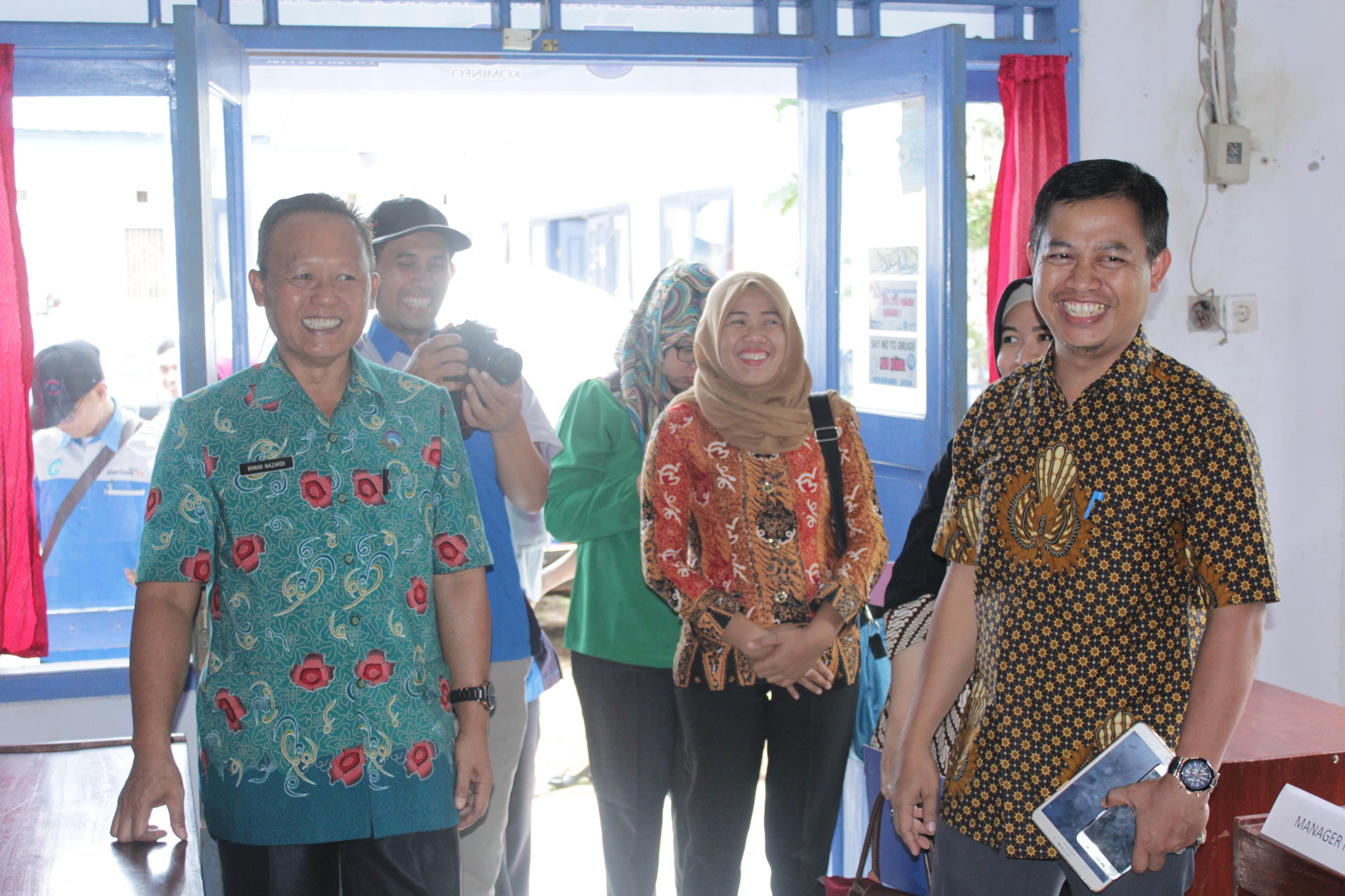 Kominfo Bengkulu Utara Sambut TIM Verifikasi Dirjen Penyiaran Kemenkominfo