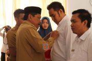 Bupati Bengkulu Utara Serahkan 140 SK CPNS Formasi Tahun 2018