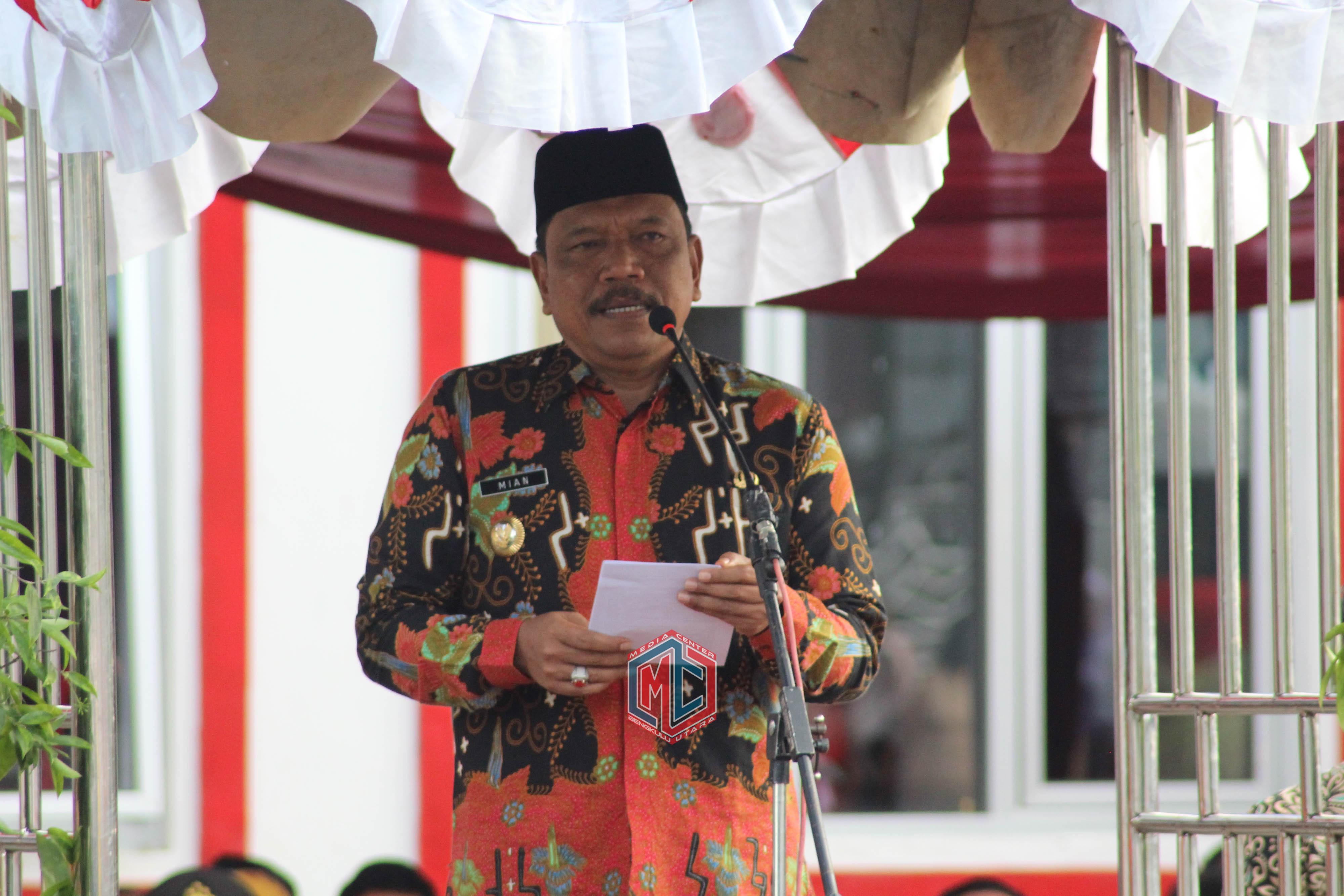 Pemkab Bengkulu Utara Gelar Upacara Peringatan Hari Kartini Ke-140