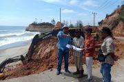 Usulan Bupati Bengkulu Utara, Perbaikan Jalan Abrasi Urai – Serangai mulai dikerjakan
