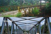 Bupati Bengkulu Utara Hadirkan Pihak Kementerian PUPR Resmikan Jembatan Wonoharjo