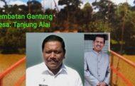 Bupati Mian Bangun Kembali Jembatan Gantung Pasca Bencana