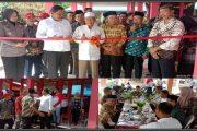 Pasar Rakyat Pal 30 Lais di Resmikan Ir. H. Mian, Pembangunan Skala Perioritas Akan di Utamakan