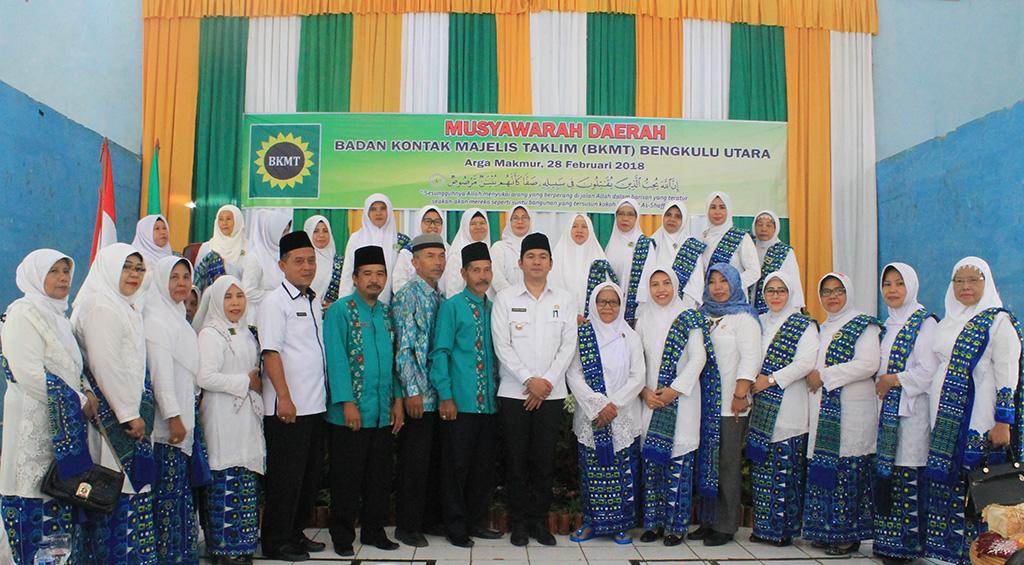 WABUP Bengkulu Utara Mengajak Bersama – Sama Bersinergi Menjalankan Program BKMT