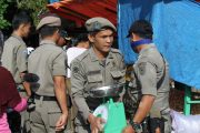 Satpol PP Bengkulu Utara Tegakkan Penertiban di Kawasan Pasar Purwodadi
