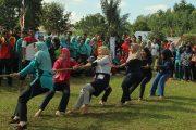 Meriahkan HUT RI Ke 73, Dispora Bengkulu Utara Gelar Lomba Tarik Tambang