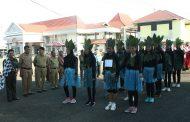 Lomba Gerak Jalan Indah Tingkat SD dan SMP Diikuti 50 Regu