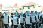 Seru dan Meriah, Suasana Lomba Gerak Jalan Peringati HUT RI Ke 73 Bengkulu Utara