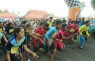 Lomba Lari 5K Dispora Bengkulu Utara Meriahkan HUT RI ke 73