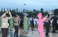 Tari Tobelo Warnai Penurunan Bendera Merah Putih HUT RI Ke-73 di Bengkulu Utara