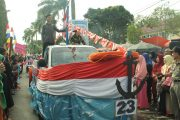 Kemeriahan Pawai Pembangunan HUT RI ke-73 di Bengkulu Utara