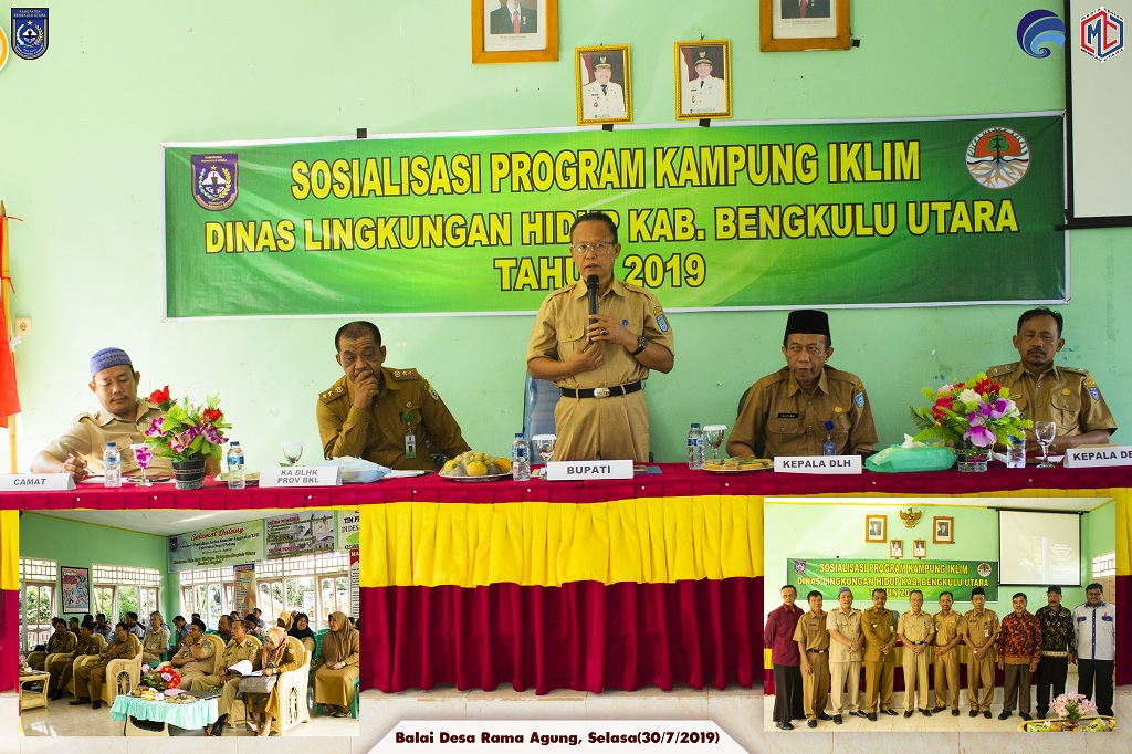 Sosialisasi Program Kampung Iklim di Kabupaten Bengkulu Utara